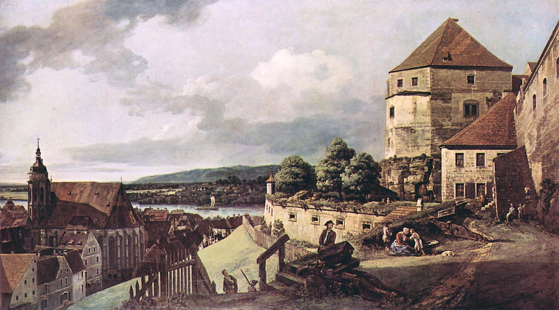 View of Pirna [2] - Canaletto